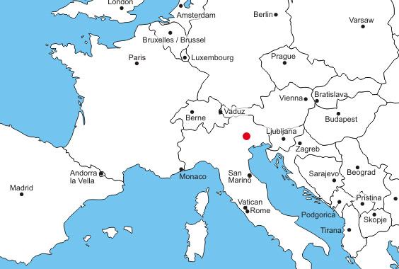 mappa dove siamo - Cappella Maggiore - Treviso
