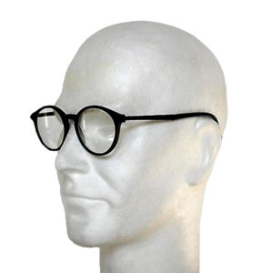 07 03 Occhiali anti-x due vetri plastica neri