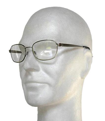 07 04 Occhiali anti-x metallo due vetri